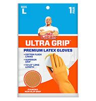 Ultra Grip Latex W/grippers, Large